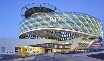 仿佛正在高速运转的齿轮与链条:OEAMTC总部大楼