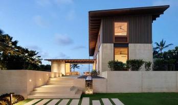 海风穿堂,绿茵萦绕:夏威夷Hale Nukumoi海岛住宅