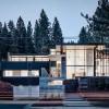 湖景开阔、简约现代的雪松林住宅