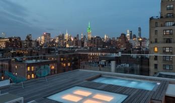 曼哈顿屋顶住宅的新生命——纽约TBD设计工作室翻新项目