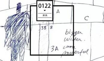 这位建筑师画的草图比你的还丑,然而...