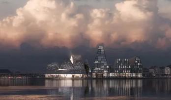 """隈研吾把建筑造到了丹麦的岛上,这回的建筑该怎么""""负""""?"""