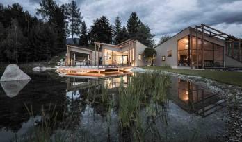 湖光山色,水天相接——家庭经营式的Hotel Seehof