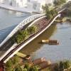 营造公共空间活力的朱家角镇曙光之桥/ MVRDV