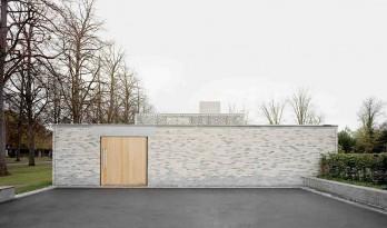 莱茵河畔氤氲湿意里的白色颂歌:里恩火葬场