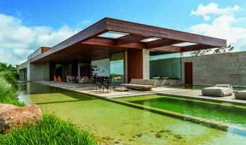 博阿维斯塔庄园的度假屋——砖,石,木等多种材料的协奏曲