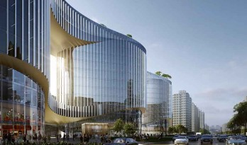 Aedas为中国郑州设计全新垂直城市空间体块