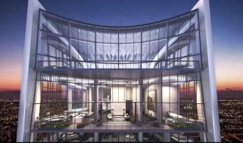 扎哈生前设计的最后一栋公寓楼终于封顶, 一套顶层复式卖 3 亿