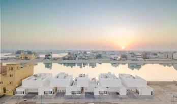以科威特生活方式为灵感的几何住宅