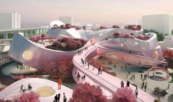 MVRDV设计的台湾桃园美术馆方案——桃园盛景,文化殿堂