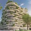 想象翁热——vincent callebaut设计的城市悬挂式花园