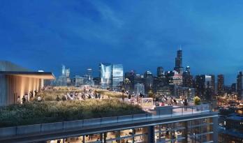 SOM在芝加哥设计的豪华办公大楼隆重开幕