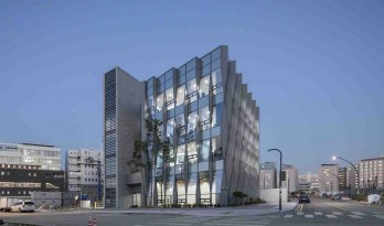 又似水晶,又似水波:变化莫测的Yuhantechnos总部大楼