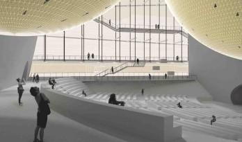 浮空剧场:2015年米兰世博会场地上进行的拉斯卡拉实验剧场项目