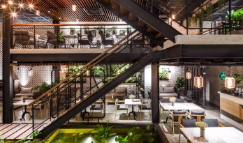安格花园咖啡厅——熙熙攘攘的河内中的一片绿洲