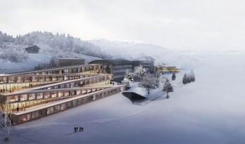 BIG出新作,这次的方案可以在屋顶上滑雪!