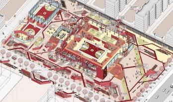 2017霍普杯体育馆设计,当场所里需要融入广场舞……