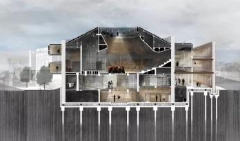 每日福利 / 20张建筑剖面分析图