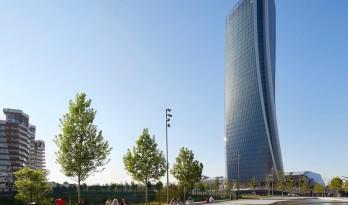 扎哈哈迪德建筑事务所又一力作——螺旋扭转的塔楼定义新的城市空间