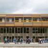 教育和体育设施独立设置的多伦学校