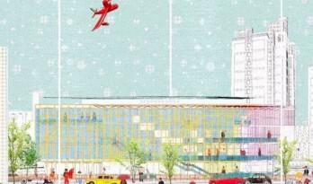 建筑设计表达系列:彩色线稿图的套路
