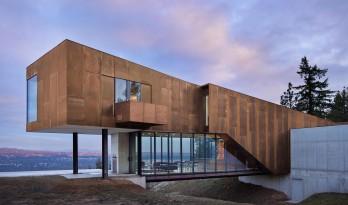 宏伟壮观的悬臂结构 — 悬崖边缘的岩壁住宅