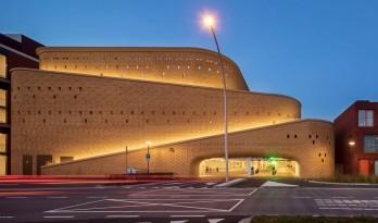 造型梦幻清奇,具有东方色调的纹理 — 荷兰兹沃勒的停车场