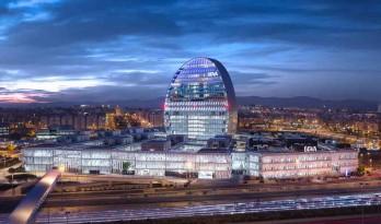 赫尔佐格&德梅隆新作!马德里的新天际线 — BBVA总部