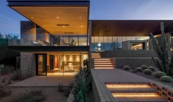 仿若生命与环境自然共生的Arizona沙漠住宅