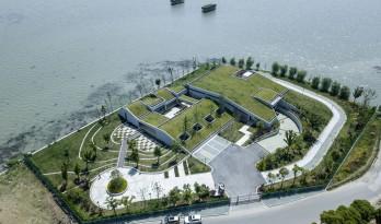 用来隐藏的设计,东太湖防汛物资仓库