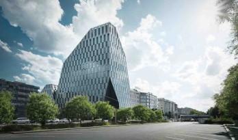 布拉格繁华街区矗立起的巨大水晶 — 维诺拉迪水晶塔楼