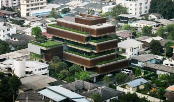 """在""""梯田""""里办公!曼谷农作物办公室"""