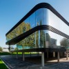 A++++能源等级,超高的能源利用率:通透的曲面办公楼