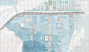 """Europan 14竞赛二等奖作品 — """"群岛内嵌套群岛""""的城市策略"""
