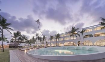 以月圆月缺为灵感而设计的SALA查汶海滩度假村