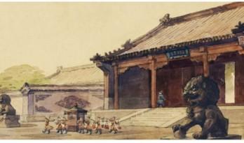 《霸王别姬》建筑手稿流出,我们看过的大片,都是这个老爷子撑起的场面