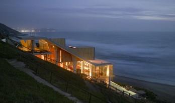迎风观海,从家到太平洋只需步行 — 智利Ghat住宅