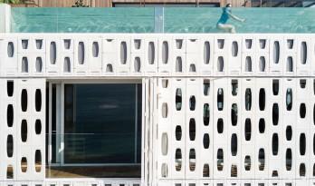 隐匿于混凝土建筑中的蜂窝酒店,坐享世界最美景观