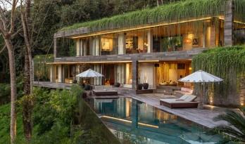 让建筑成为地形生长一部分的变色龙住宅 | Chameleon Villa