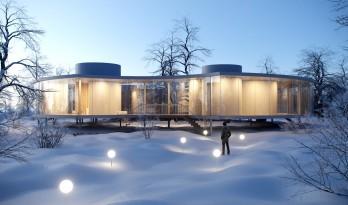 """架空的""""甜甜圈""""—探索自然、建筑与人类之间的新关系"""