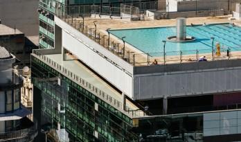 空中花园激活城市空间—SESC综合体
