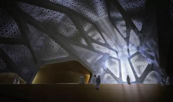 扎哈那个最聪明的沙漠设计是怎么样想出的?
