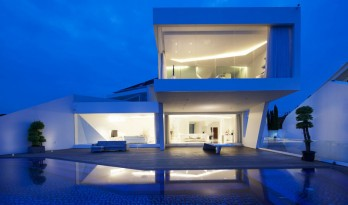 应用参数化设计表达富有动态感的流动性结构 — 张力十足的旋转住宅
