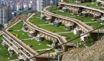 绿意葱茏,层峦叠建 — 海湾边的社区公寓