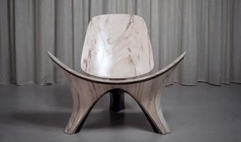 """扎哈·哈迪德事务所发布价值14.5万美元的椅子""""Lapella"""",你愿意买单吗?"""
