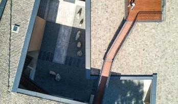 院子的五面风景  —  金凤书院,秦岭 / 土木石建筑