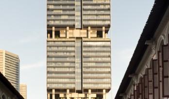"""延续了新加坡对""""花园中的城市""""的理想 — 南海滩综合新区 / 福斯特设计事务所"""