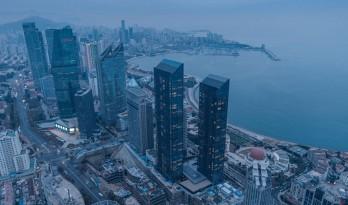gad新作 | 青岛深蓝中心,超高层综合体进驻滨海空间
