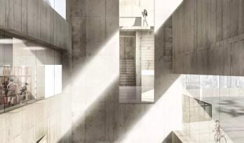 如何渲染一张有高级感的混凝土效果图?