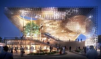 曲直相间,动静有章:2020年迪拜世博会德国馆入选方案